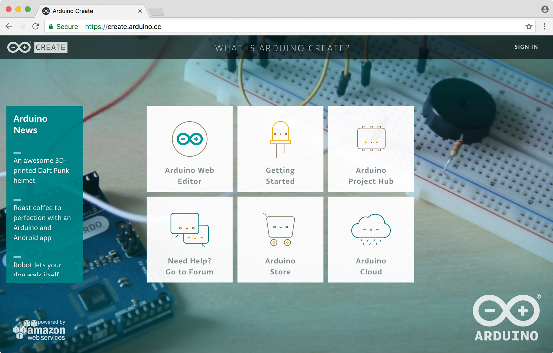 Arduino for Linux screenshot
