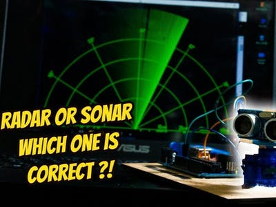 Radar or Sonar - Which One Is Correct?