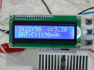 Measuring the Battery Capacity [Lithium-NiMH-NiCd]