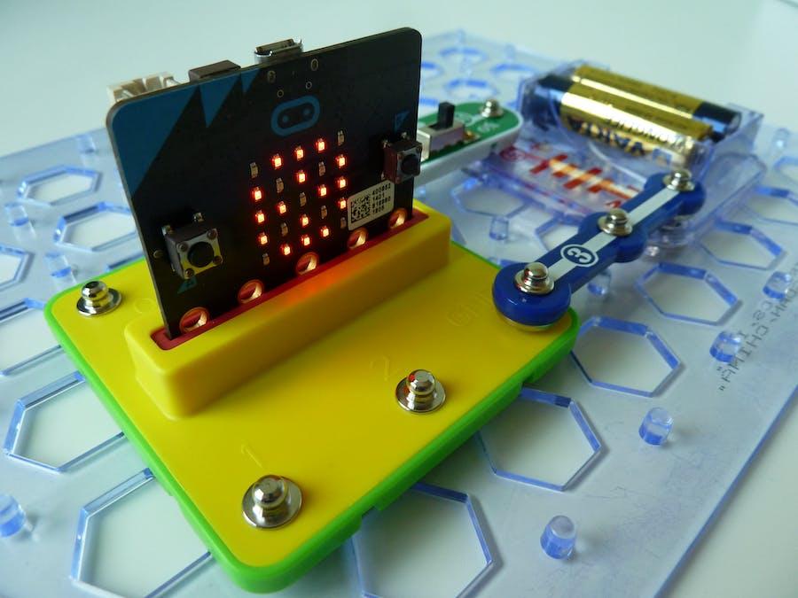 Snap:bit - Power Micro:bit Using Snap Circuits