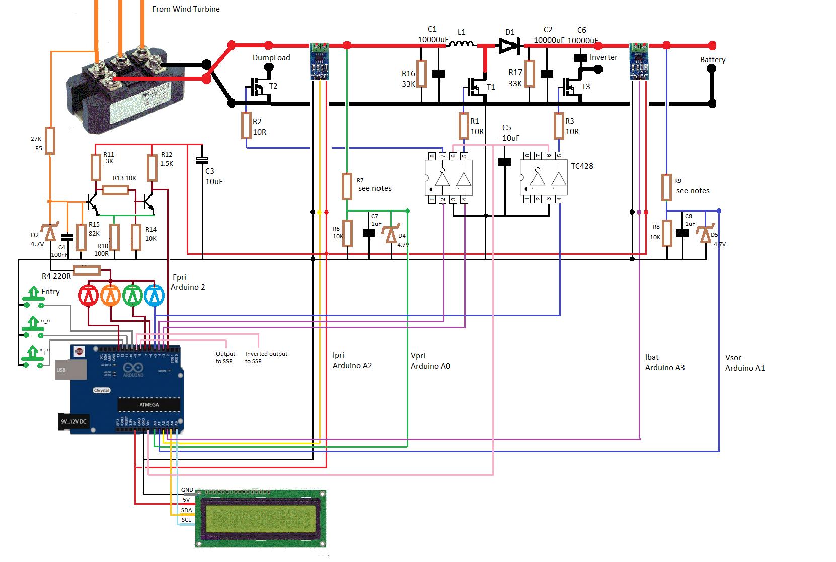A Wind Turbine MPPT Regulator with an Arduino Uno - Digilent
