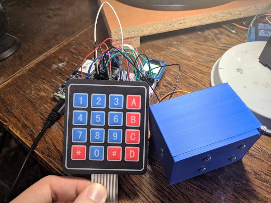 Azure Sphere Lock Box