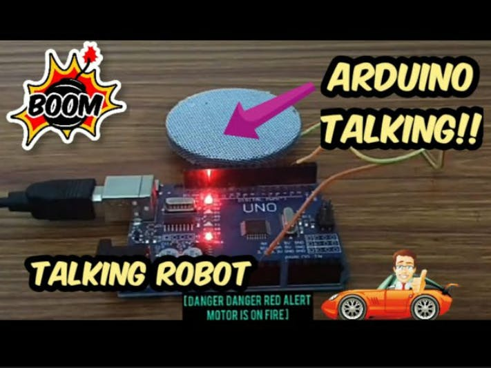 Talking Arduino!?! Arduino Text to Speech