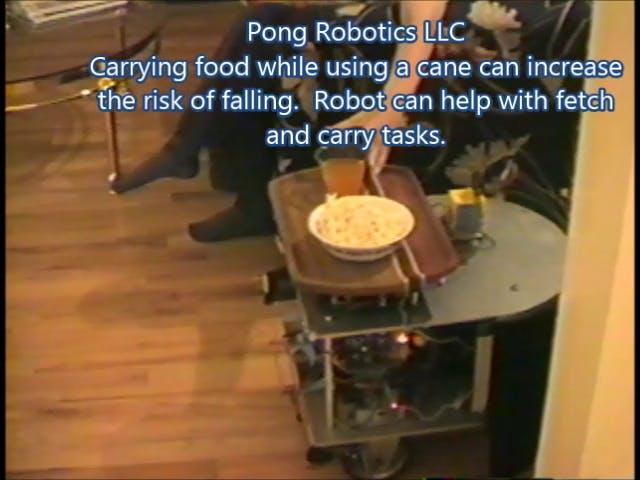 Robotic Assistant for Eldercare