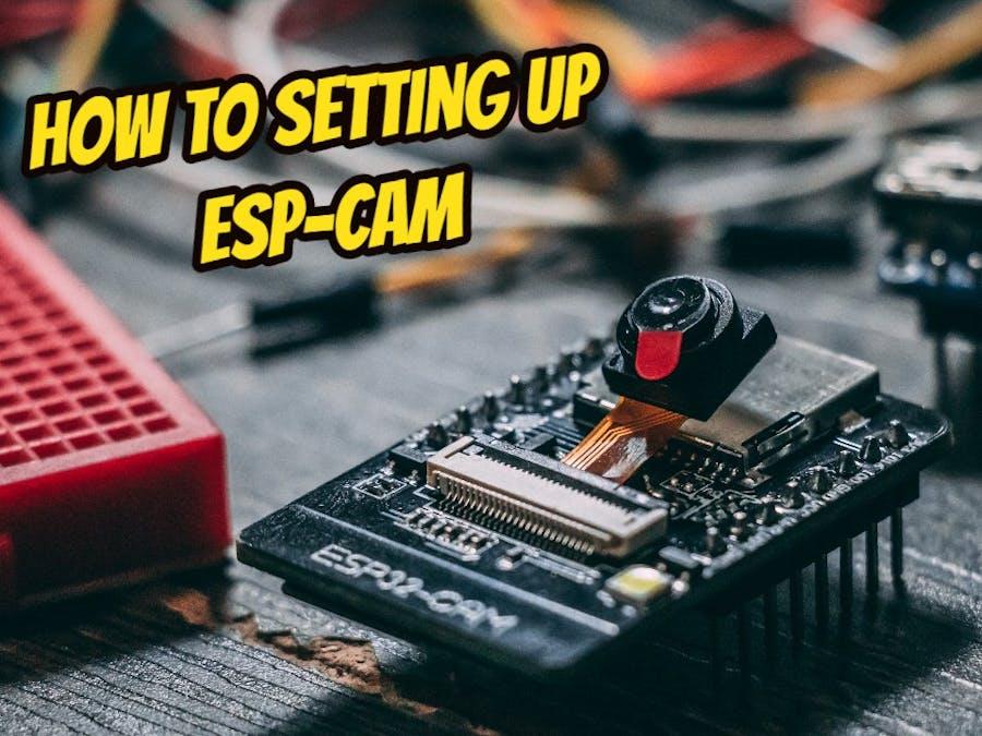"""Setting Up ESP-CAM with Arduino """"No More USB TTL"""""""