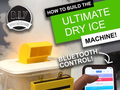 Build the Ultimate Dry Ice Machine