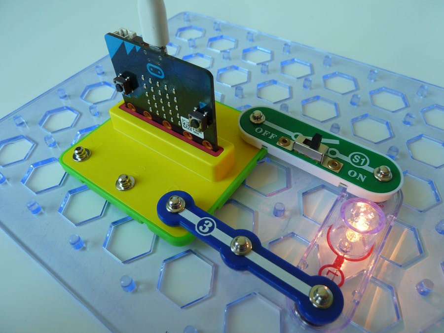 Snap:bit - Use Micro:bit as Power Supply for Snap Circuits