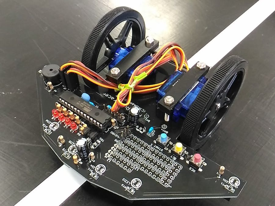 Robotracer, Line Follower Robot