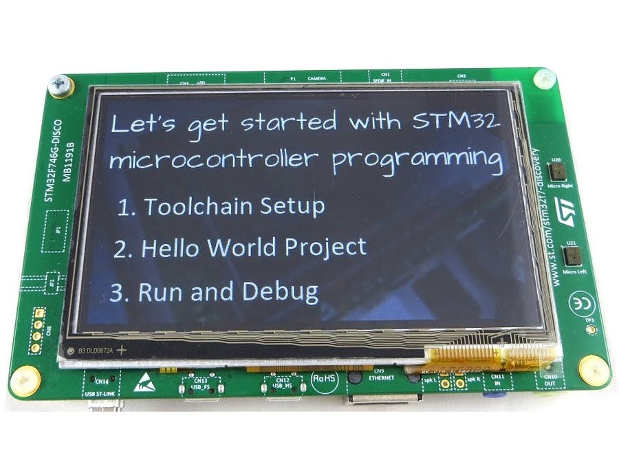 Get Started with STM32 Microcontroller Programming
