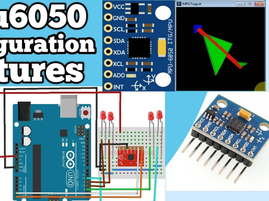 MPU6050 Configuration with Arduino