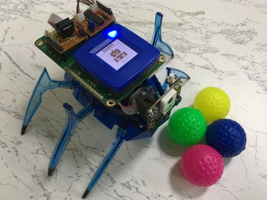 Color Follow Robot with Pixy2 Cam