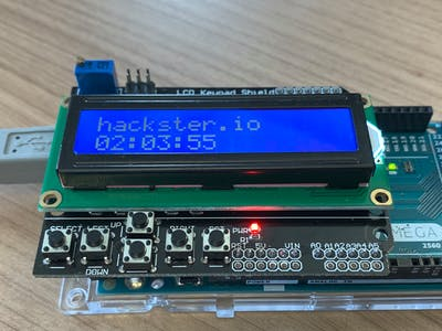 Digital Watch on Arduino Using a Finite State Machine