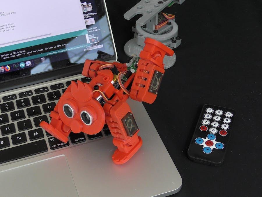 4-Legged Walking Robot Control Software