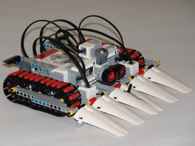 Voice Controlled LEGO MINDSTORMS EV3 Sumobot