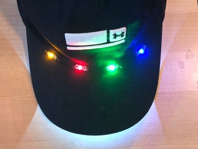 Wearable Color Mixing Flashing Lights
