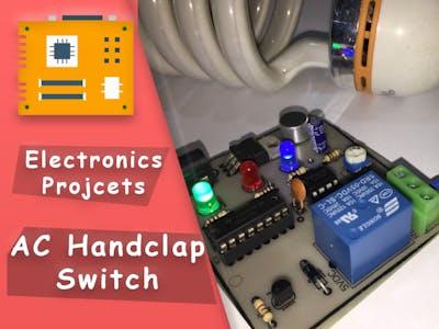 Handclap AC Switch Control