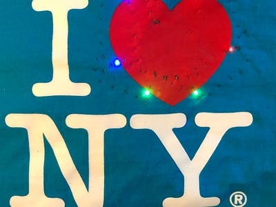 I <3 NYC Light Up Tee