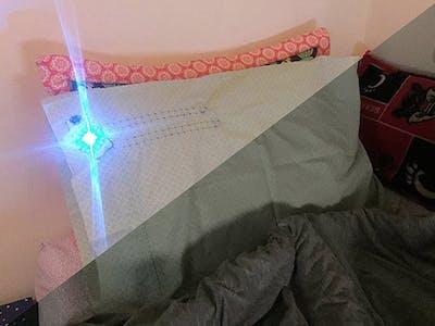 Light Sensor Activated Alarm Pillow