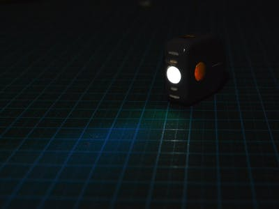 Arduino RGB Color Grab Flashlight