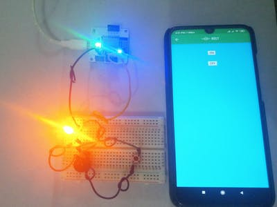 Automated and Manual Control of LED and Buzzer