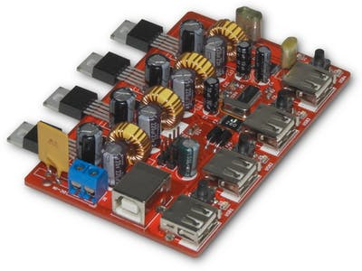 4-Port High Power USB Hub