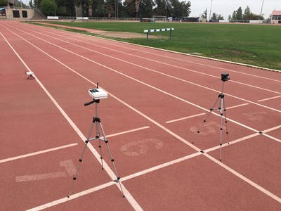 Wireless Laser-Gate Timing System for Track and Field