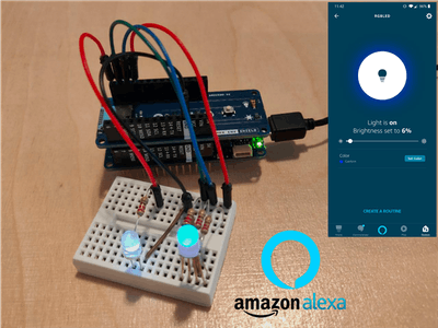 Arduino IoT Cloud Amazon Alexa Integration