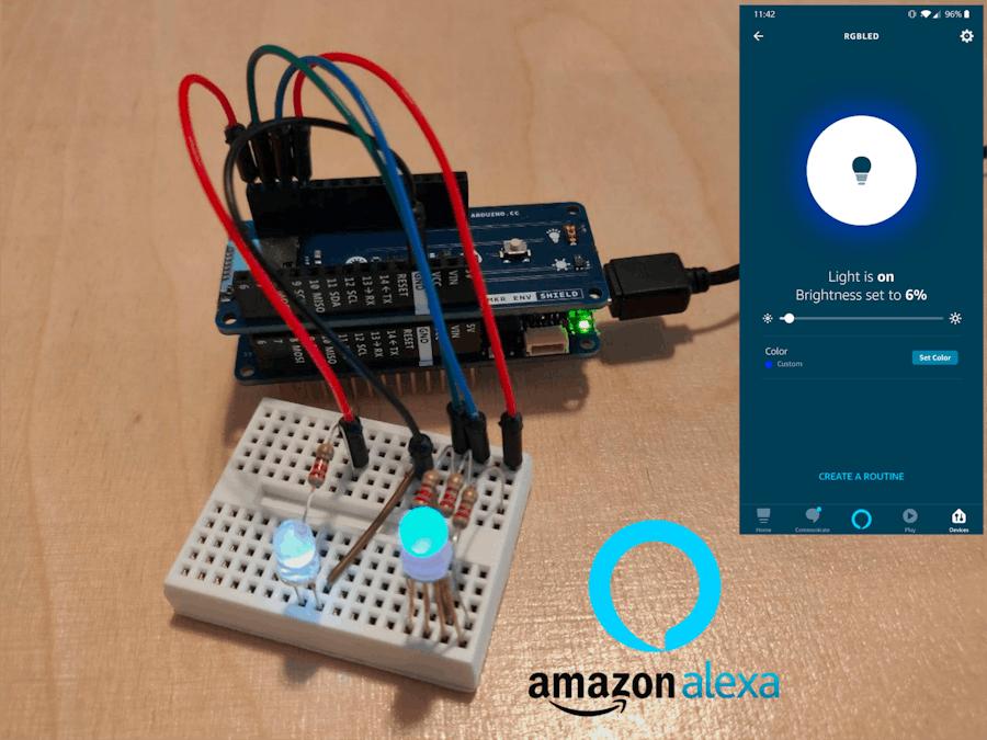 Arduino IoT Cloud Amazon Alexa Integration