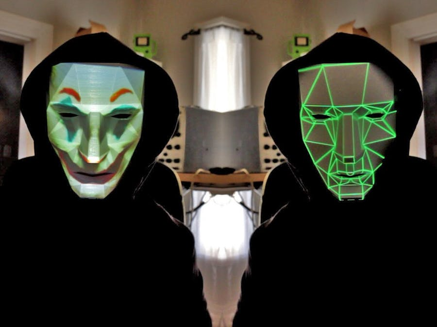 Face Changing Projection Mask