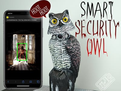 Zombie Detecting Smart Security Owl (Deep Learning)