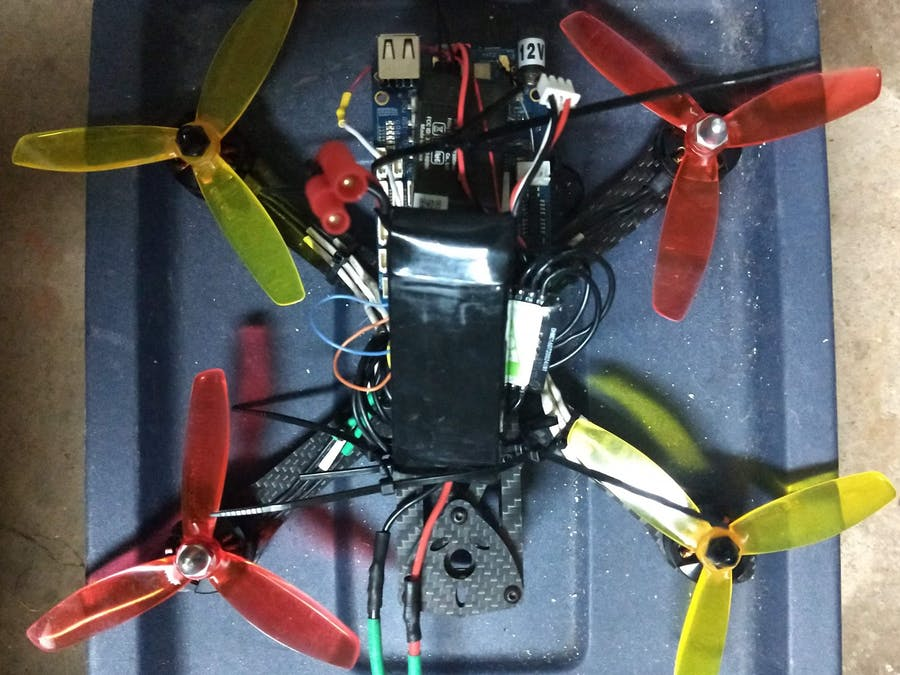 This Drone w/ a BBBlue and ArduPilot/ArduCopter