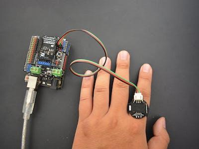 Arduino Lie-Detecting Ring