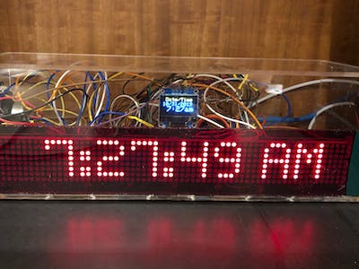 See-Through Matrix Clock