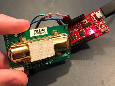 Getting Started with the MH-Z14A CO2 Detector