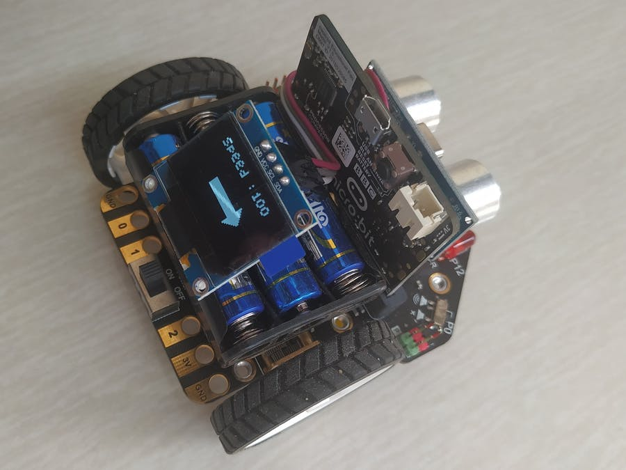 Interfacing OLED Display with Micro Maqueen Robot