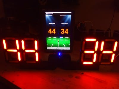 ESP32 - 7 Segment Scoreboard