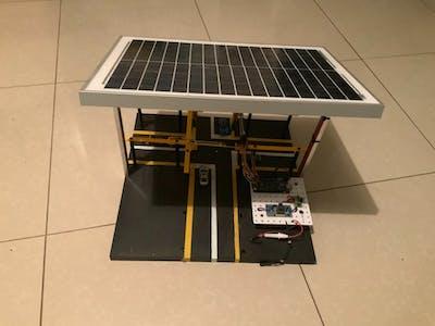 Solar Powered Traffic Signal