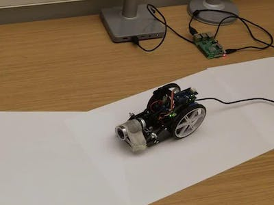 Lane Following Rover Using Raspberry Pi, MATLAB and Arduino