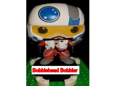 Bobblehead Bobbler powered by Alexa and Lego Mindstorms