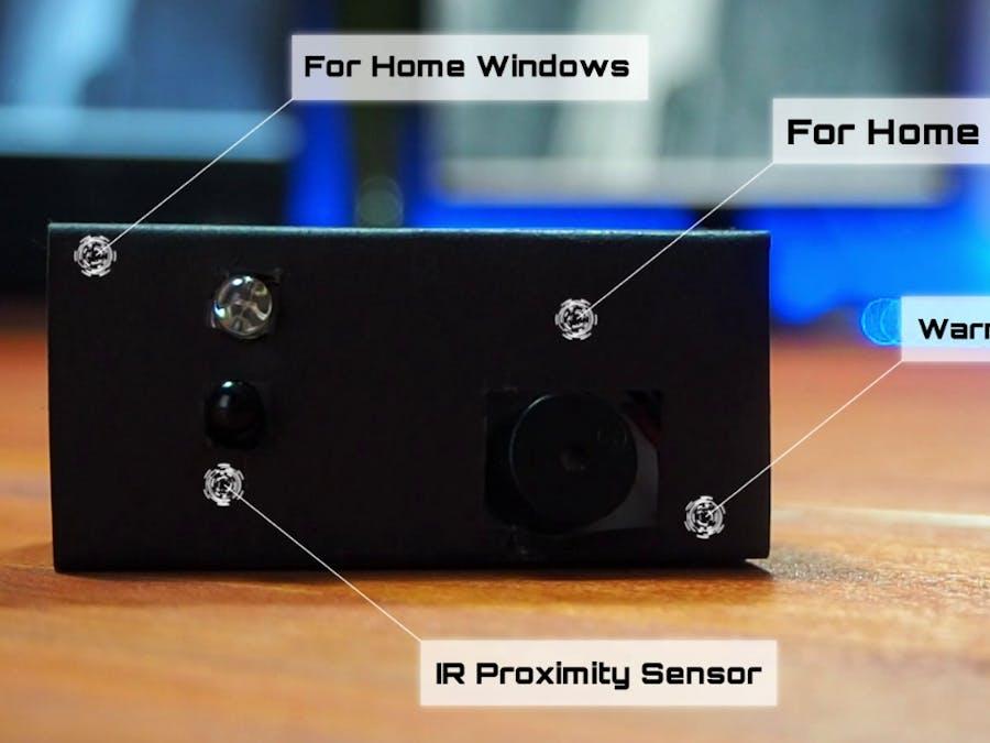 Make Touchless Warning Buzzer (IR Proximity Sensor)