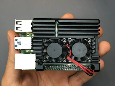 Smart Control of Raspberry Pi Fan Using Python & ThingSpeak