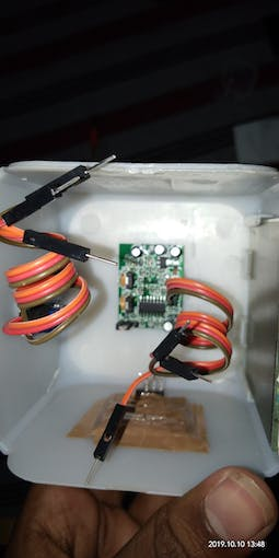 I fit sensors like dht11, moisture, ldr, mkrfox1200, pir, gas and oled screen inside this case.