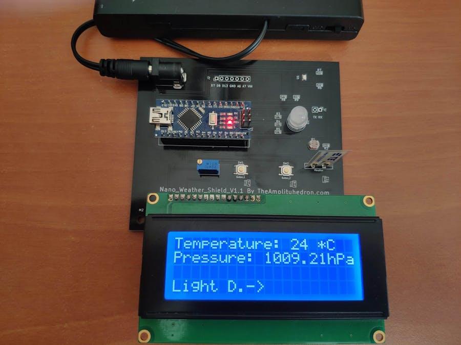 Nano Weather Shield V1.1