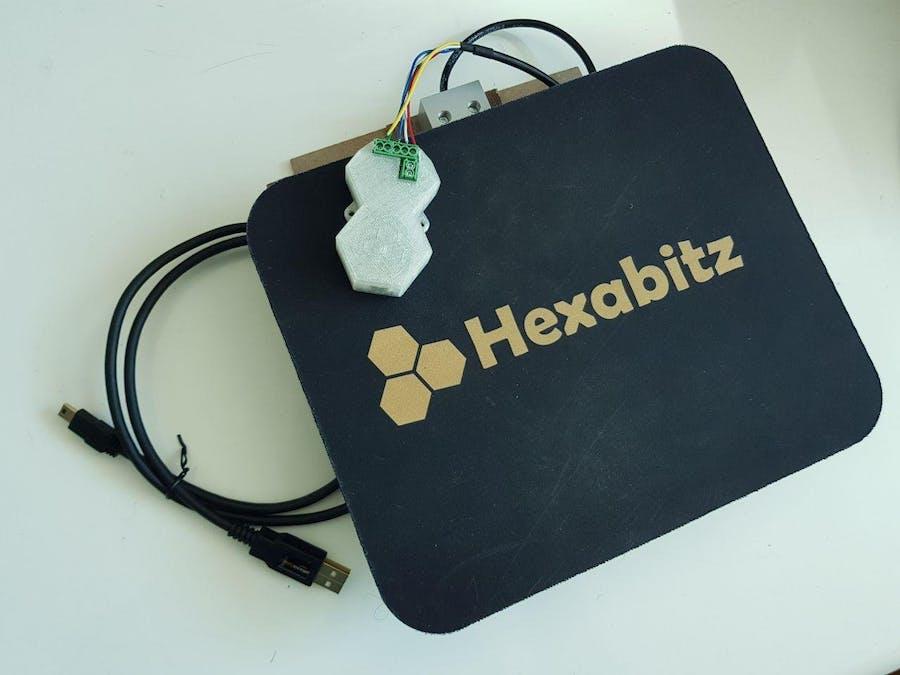Hexabitz Digital Weight Scale