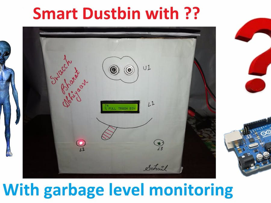 Smart Dustbin with Garbage Level Monitoring