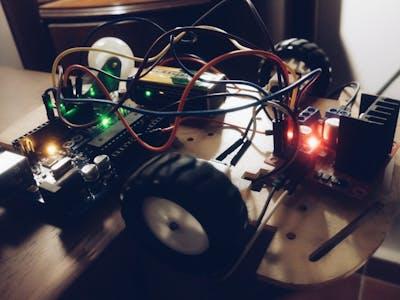 DC Motors Control Using Arduino PWM with L298N H-Bridge