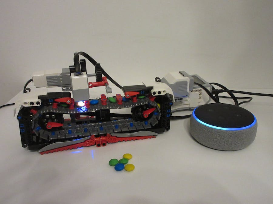 Alexa EV3 Candy Machine
