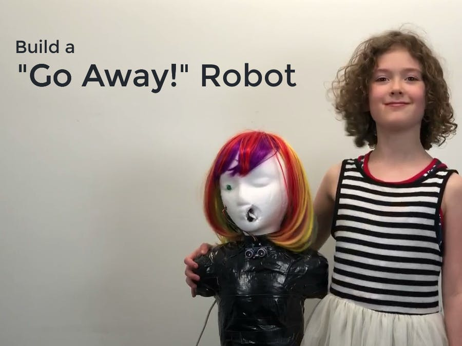"Build a ""Go Away!"" Robot - Easy Starter Project for Kids"