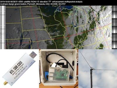 Automated Weather Satellite Ground Station