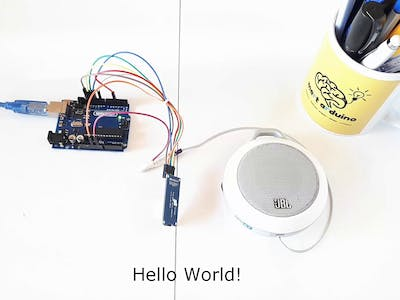 Make a Project That Speaks / Reacts with the Arduino